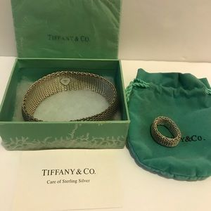 TIFFANY & CO.  Bracelet  Matching ring